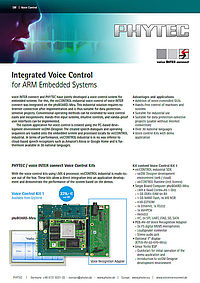Flyer integrated voice control